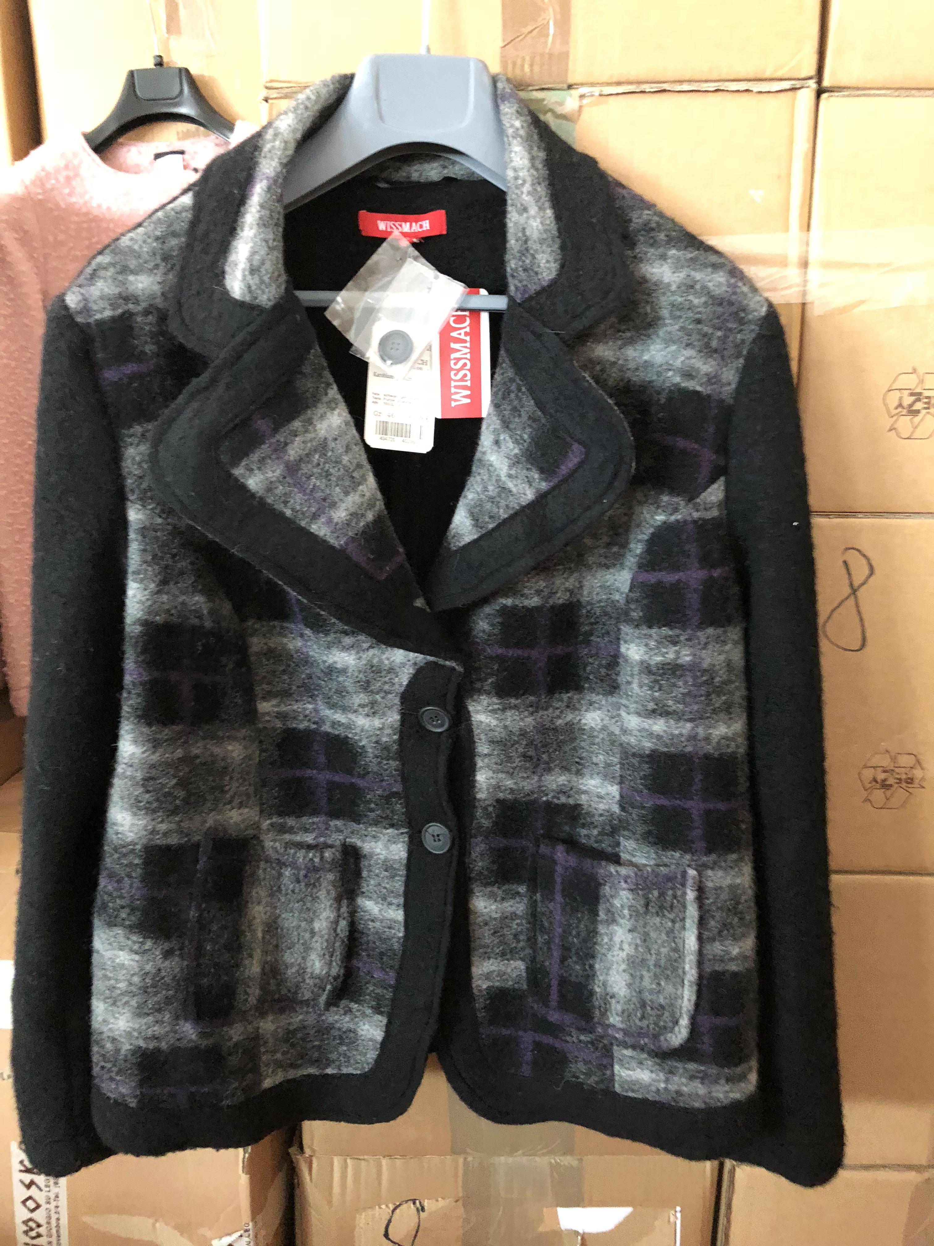 Stock giacche donna in lana cotta