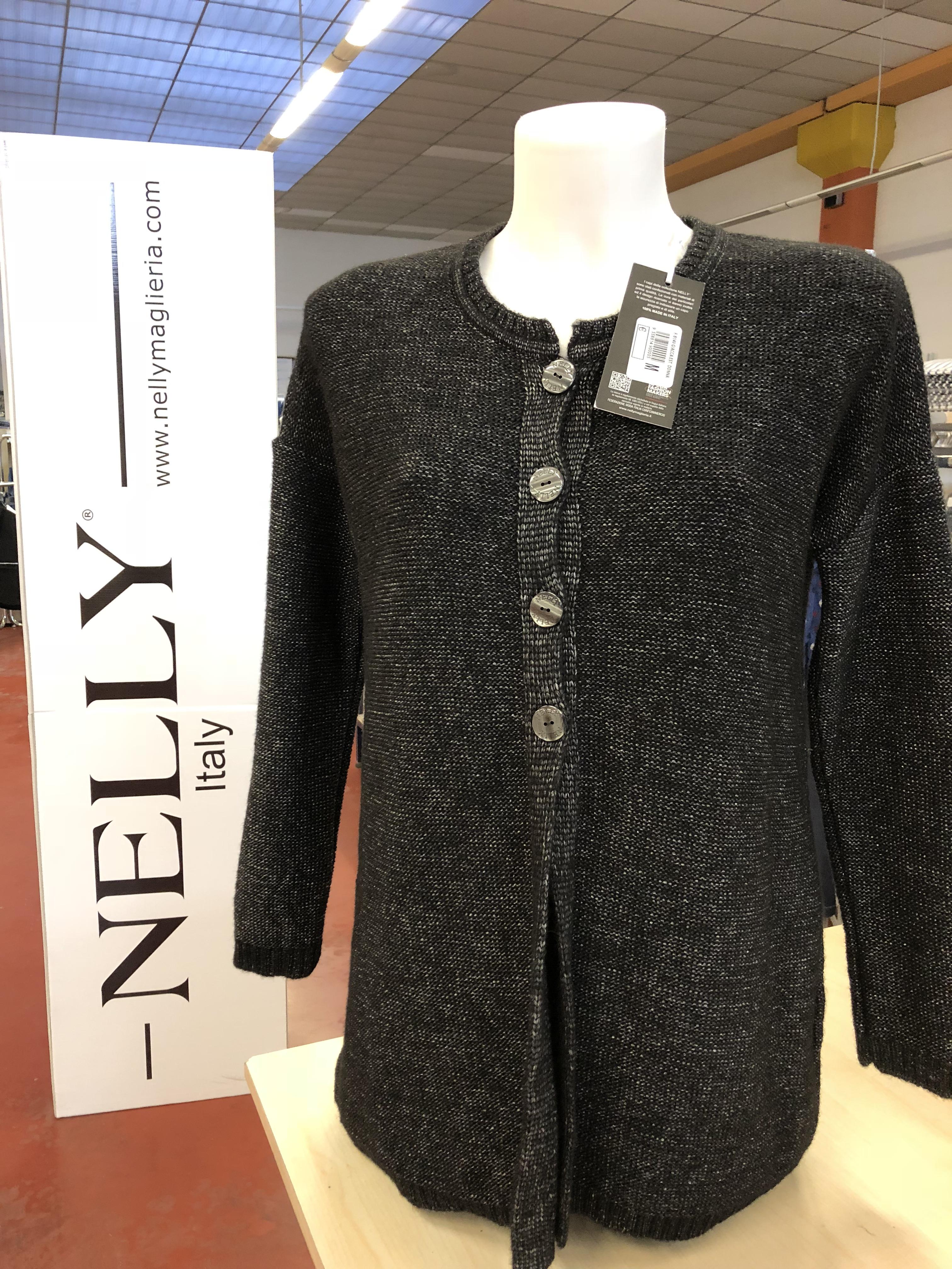 2e5b472376bc2c Stock giacche in maglia donna Made in Italy