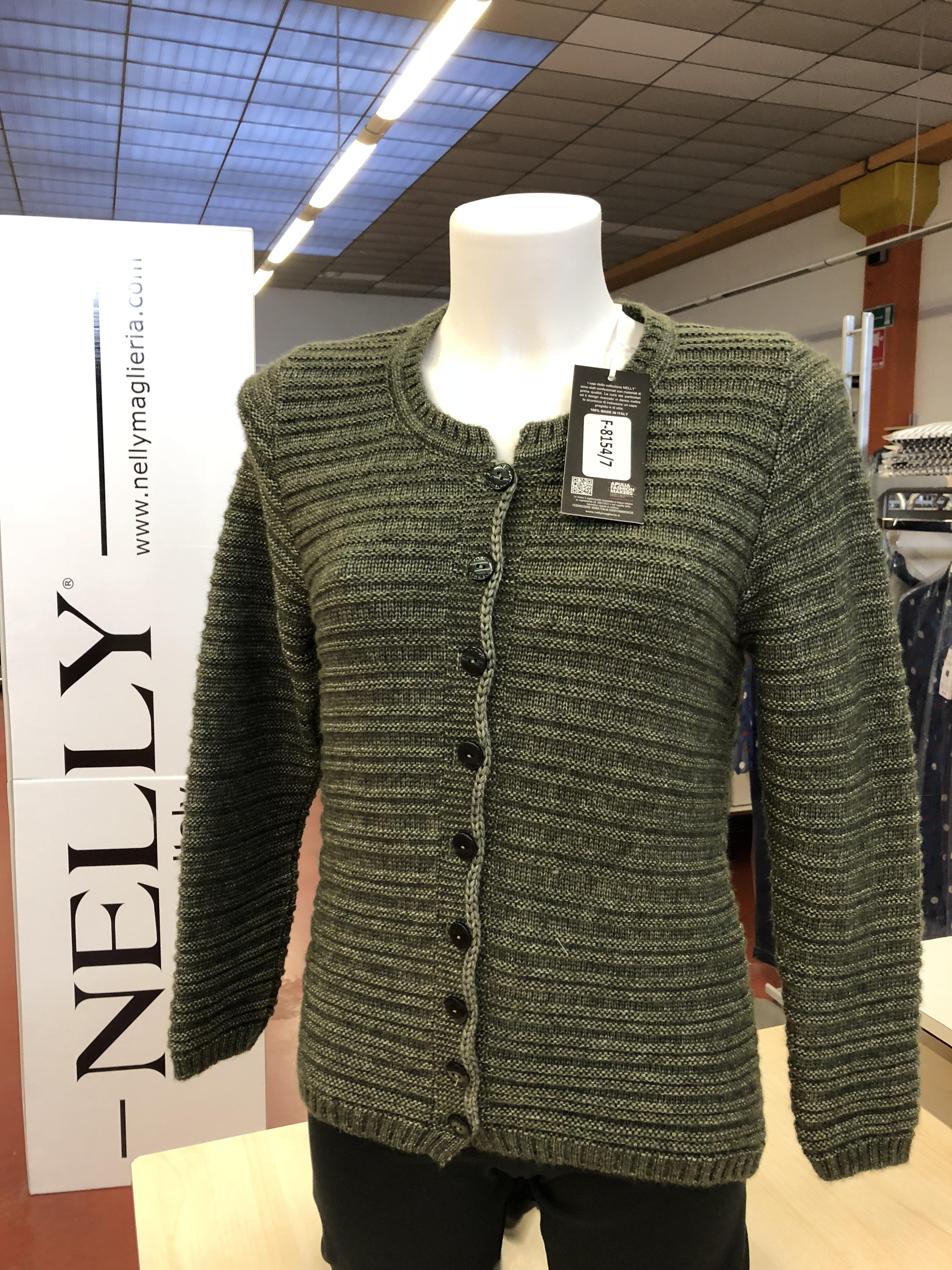 Giacca in maglia donna Nelly