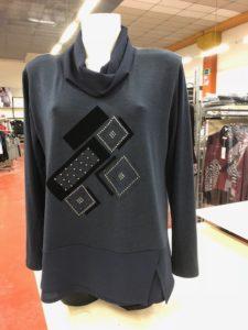 4bf2bf35e8ed ... ingrosso abbigliamento Signora Milano Stock abbigliamento Firmato Signora  Milano Maglie invernali Donna Milano