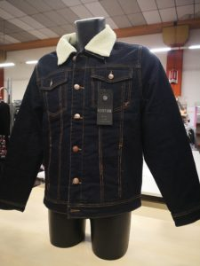 Stock giacche jeans uomo Asti