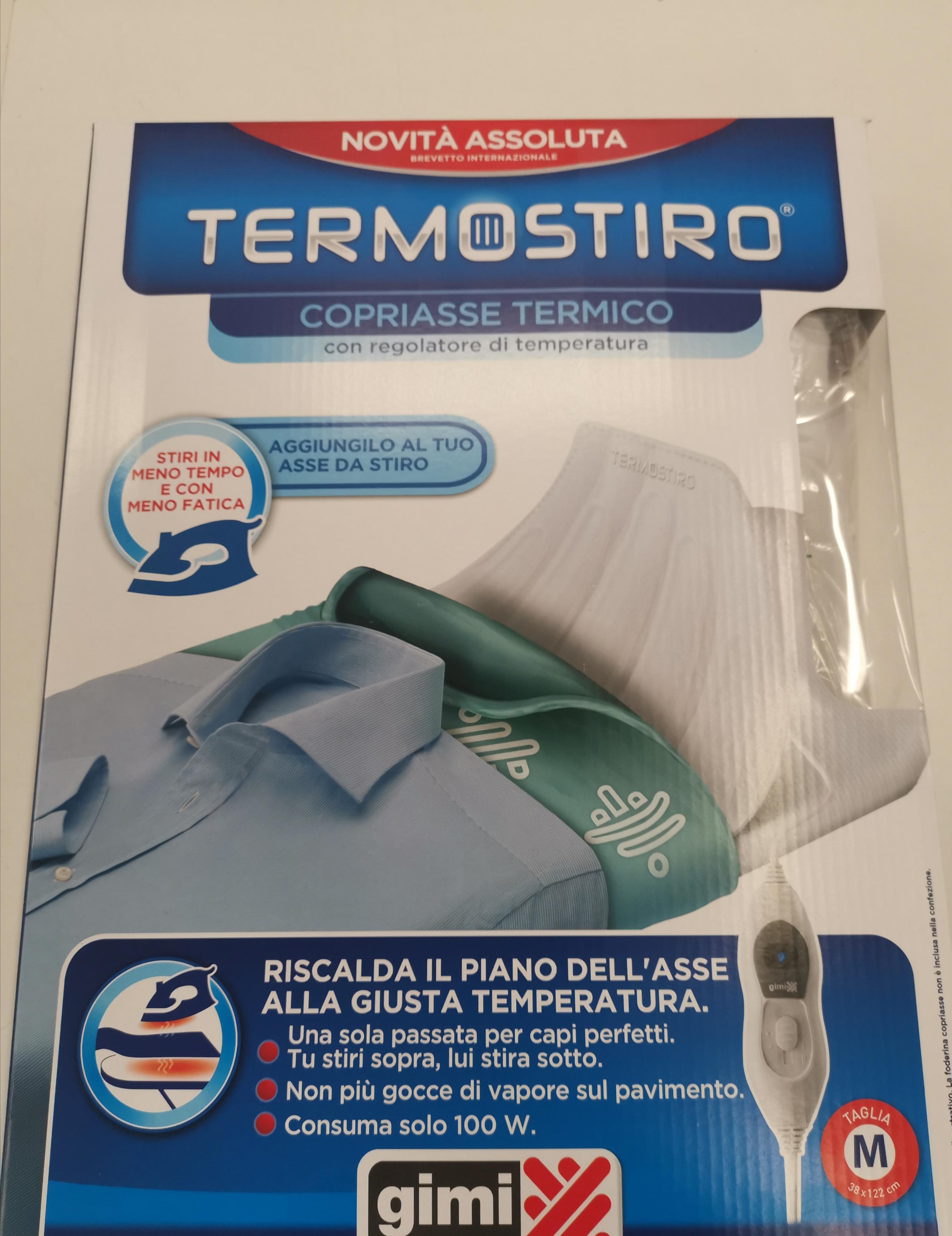 Stock termostiro copriasse da stiro termico Gimi