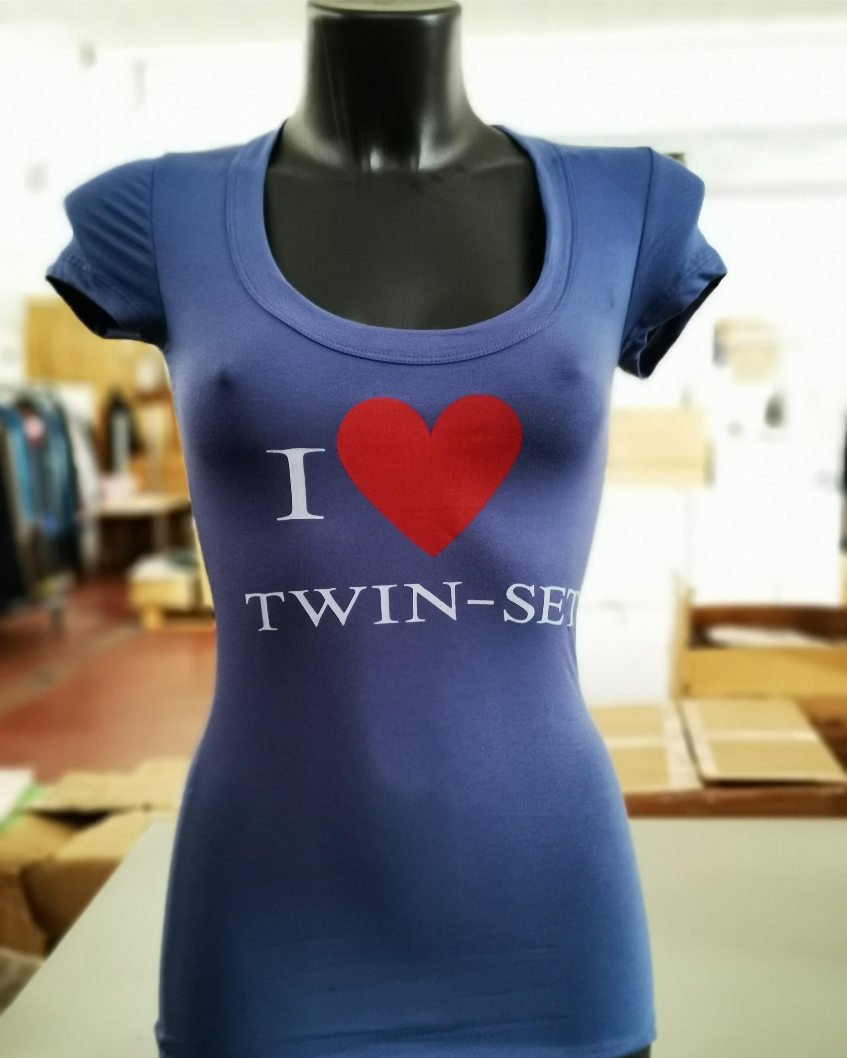 T-shirt donna TWINSET