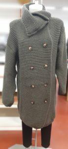 Cappotti Donna in maglia doppio petto - ingrosso online