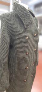 Cappotti in maglia donna
