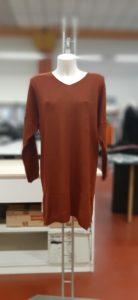 Vestito in maglia donna maniche lunghe