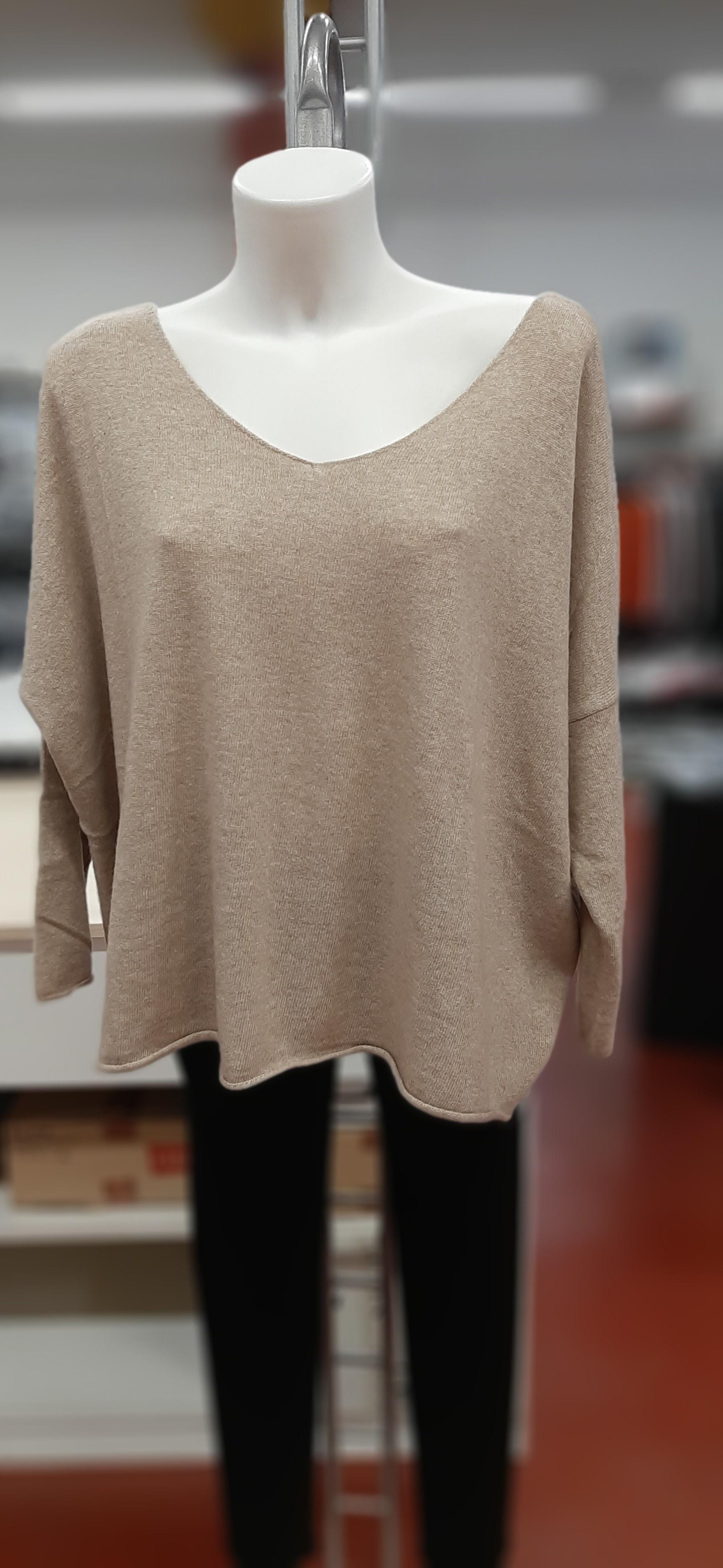 Maglie Donna pullover scollo V