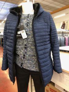 Giubbotti invernali per Donna colore Blu - ingrosso online