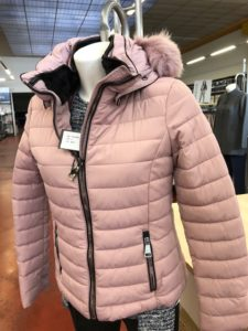 Giubbotti invernali per Donna colore Rosa - ingrosso online