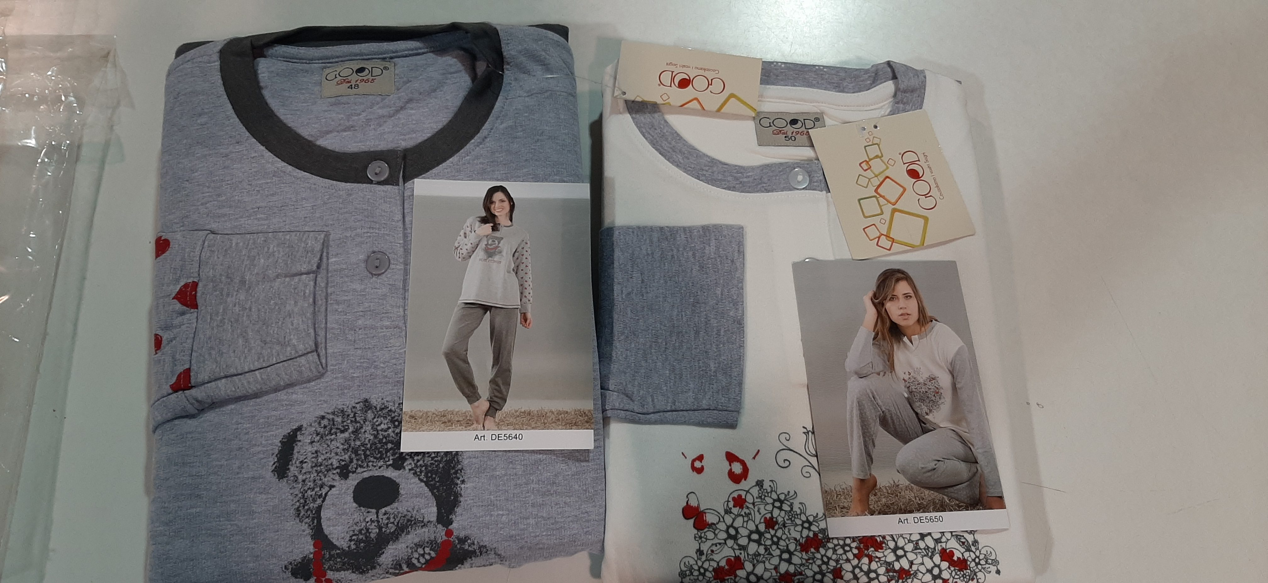 Stock pigiami donna GOOD